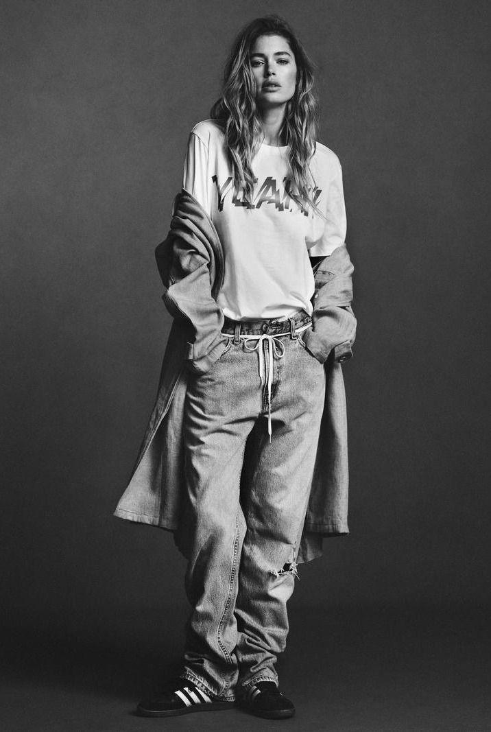DIE, DIE MY DARLING! — Doutzen Kroes by Ben Weller for Twin Magazine,...