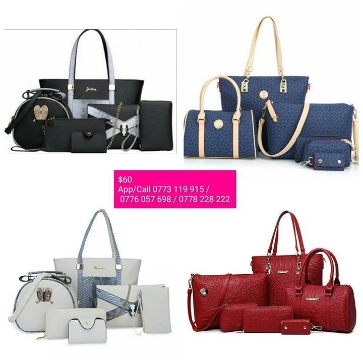 61a119a7deb 6 in 1 handbags set in stock. HARARE  at Avondale plaza Avondale ...