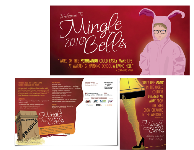 A Christmas Story 2019.Invitation Design For A Christmas Story Themed Party