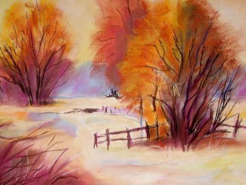 Blog De Martineangie Peinture A L Huile Pastel Dessin
