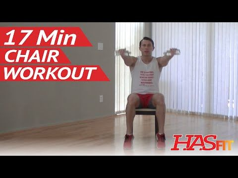 17 Min Chair Exercise For Seniors Beginners Hasfit Senior Exercises For The Elderly Workout Hasfit Chair Exercises Senior Fitness Flexibility Workout