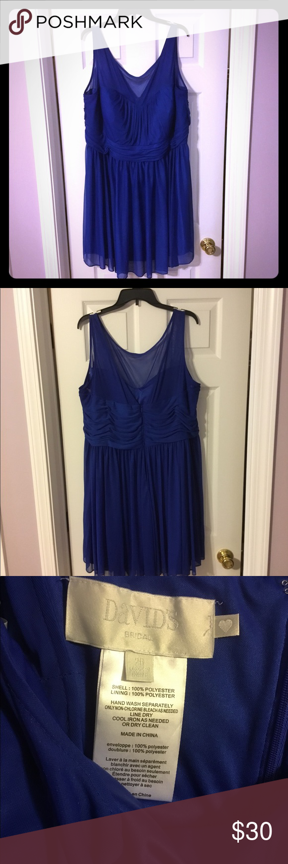 Like new davidus bridesmaid dress size my posh picks