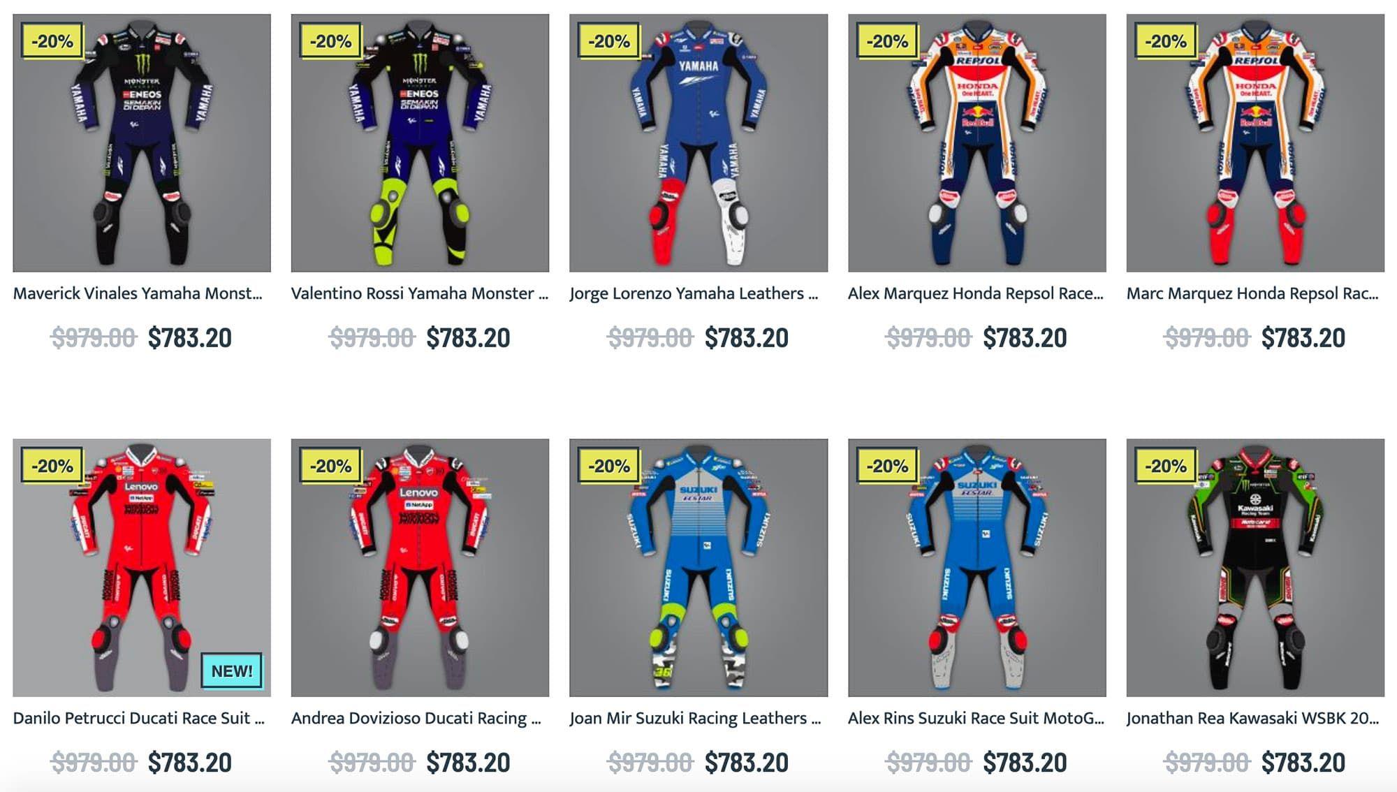 Explore The Vast Collection Of Motogp 2020 Motorcycle Racing Suit Valentino Rossi Marc Marquez Andrea Dovizisos Andr In 2020 Motorcycle Race Suit Racing Suit Motogp