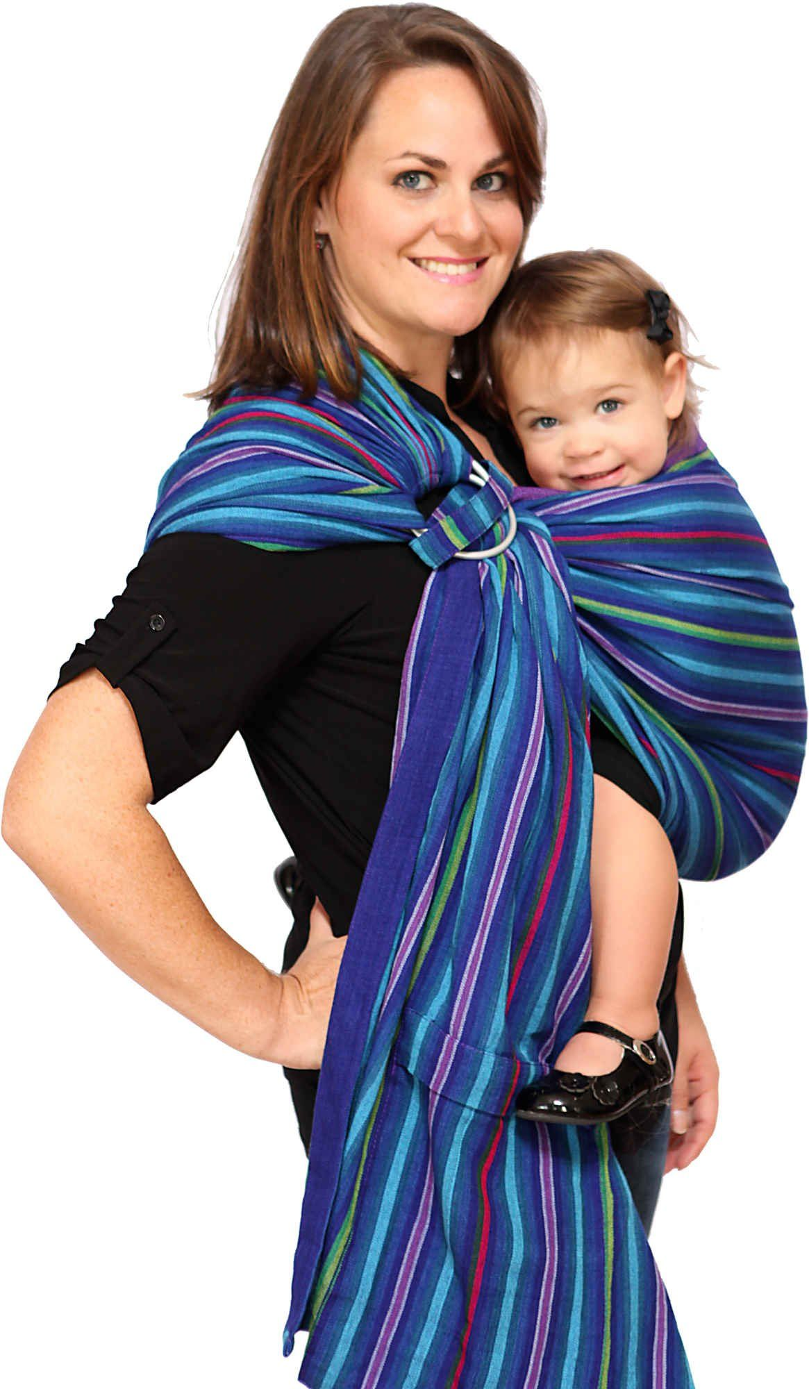 Maya Wrap Comfortfit Ring Sling Hashtag1 Ring Sling Baby Carrier Baby Sling Carrier Ergonomic Baby Carrier
