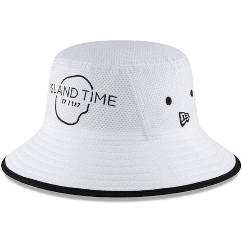 afb641c45a0abf THE PLAYERS New Era Island Time Bucket Hat – White | Products | Hats ...