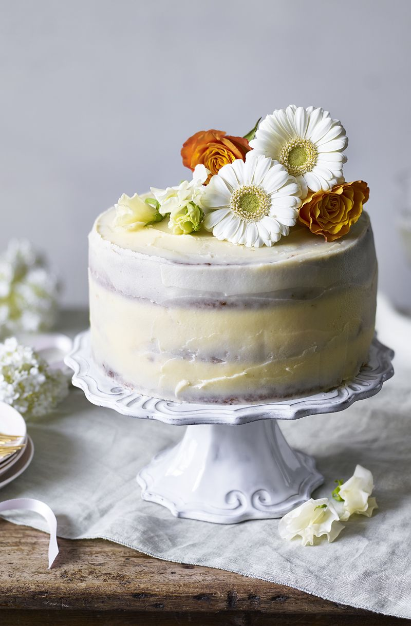 Lemon And Elderflower Cake Recipe In 2019 Cake Decorating