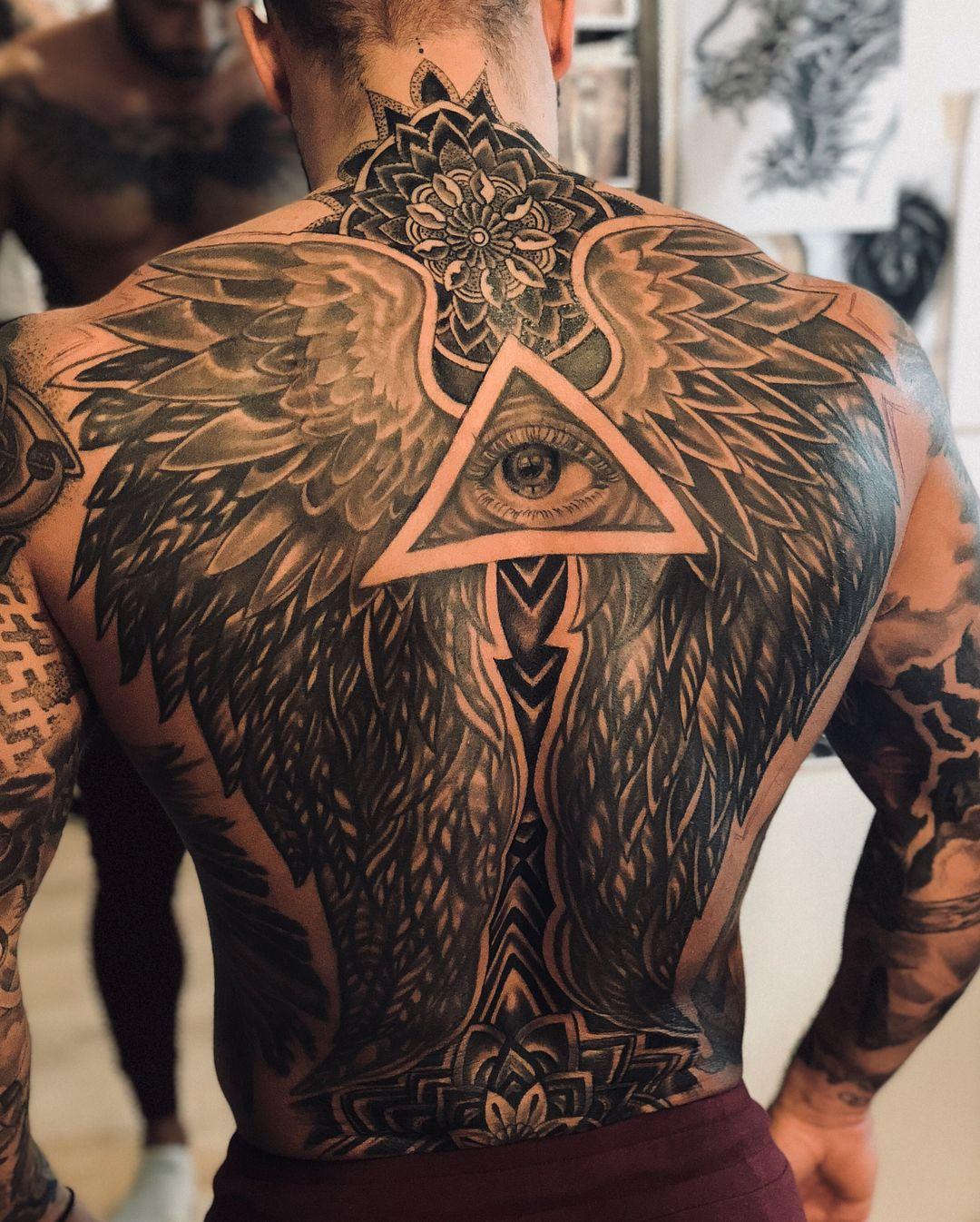 Pin De ส ร พงศ ภาน En Dig The Ink Tatuajes De Alas En La Espalda Tatuajes Molones Tatuajes De Alas