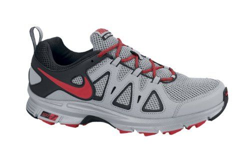 c0ede6f3854088 Nike Mens Air Alvord 10 Trail Running Shoe Extra Wide Grey Red Size ...