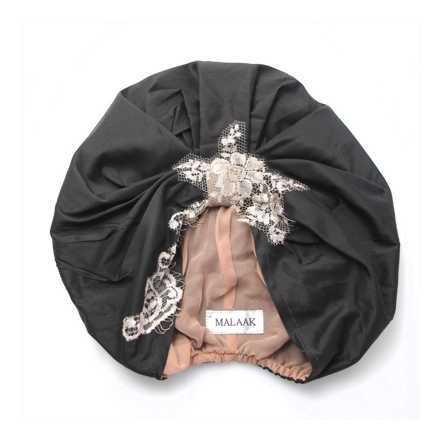 c5b982a5 Check out Dubai-based label Malaak's chic turban. The collection also  includes kaftans, abayas, and evening dresses combining Khaleeji culture  and 60s ...