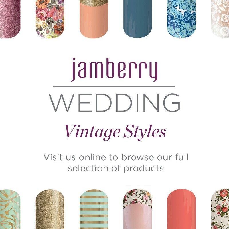 Vintage Jamberry Wedding Styles