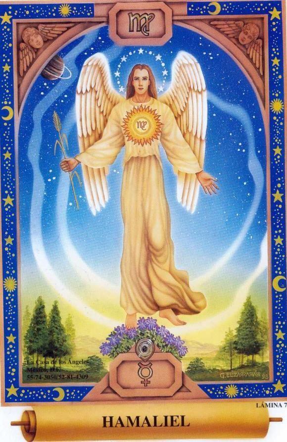 Resultado de imagen para angel hamaliel HD | Anjos e arcanjos ...