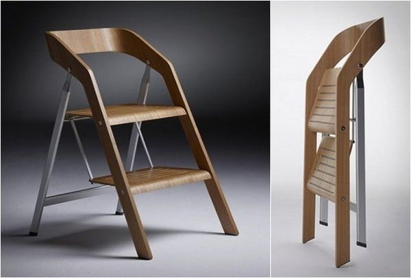 Brilliant Space Saving Furniture Ideas Usit Ladder Chair By Maarten Caraccident5 Cool Chair Designs And Ideas Caraccident5Info