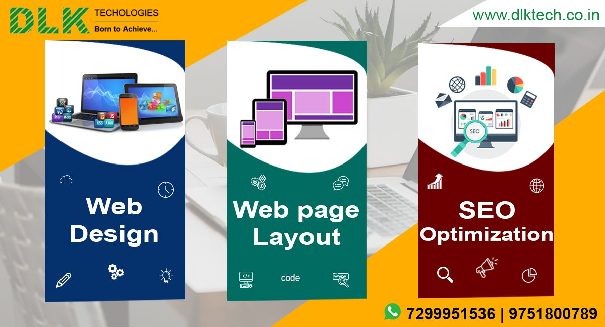 Dlk Technologies Is A Creative Team Of Experienced Website Design And Development Professiona Web Development Design Custom Web Design Web Development Company
