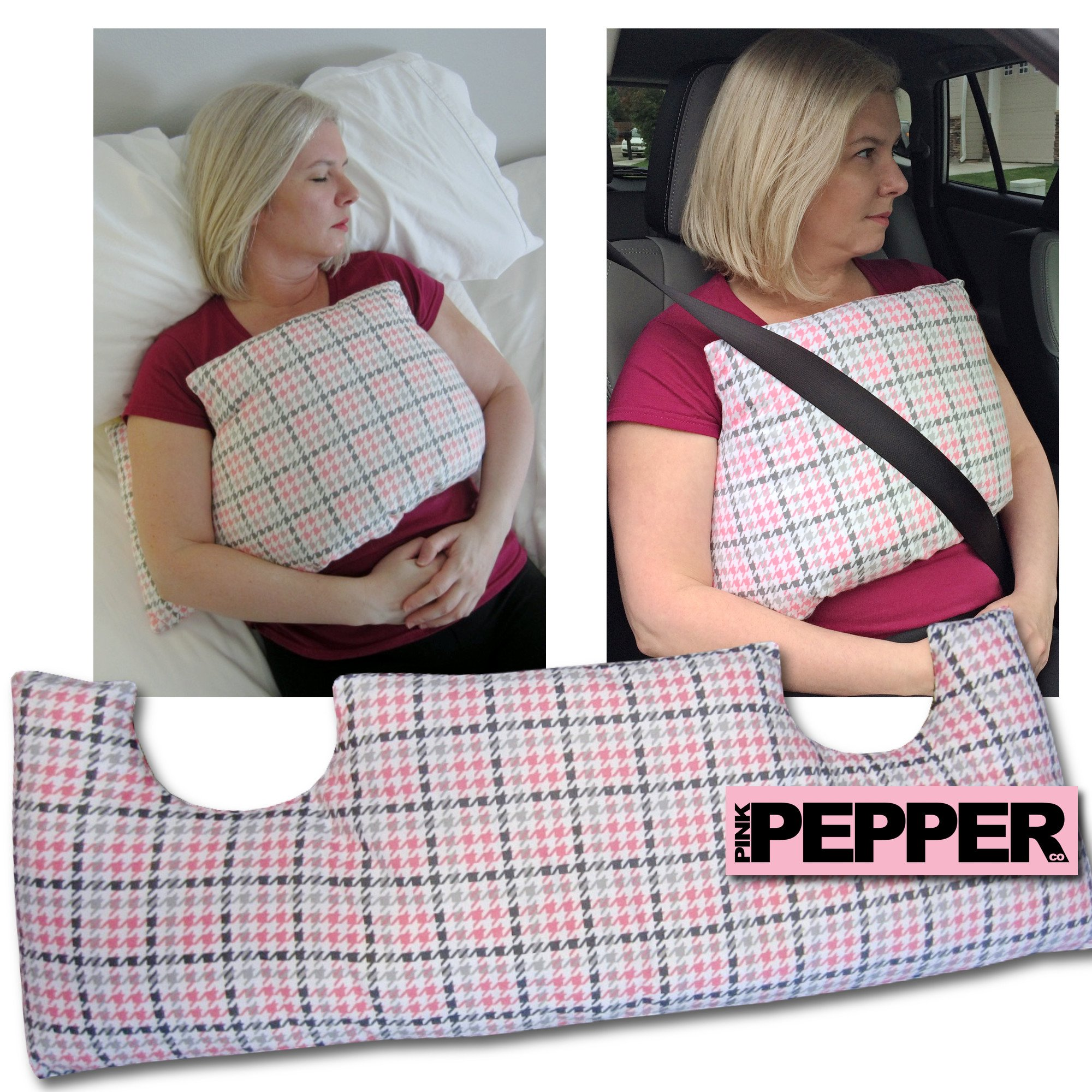 MASTECTOMY Breast Cancer Post Op Chest PILLOW  Survivor