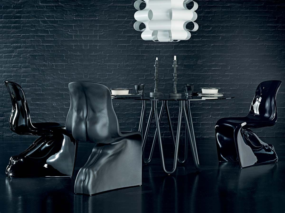 casamania | him & her chairs | design by fabio novembre (2008, Möbel