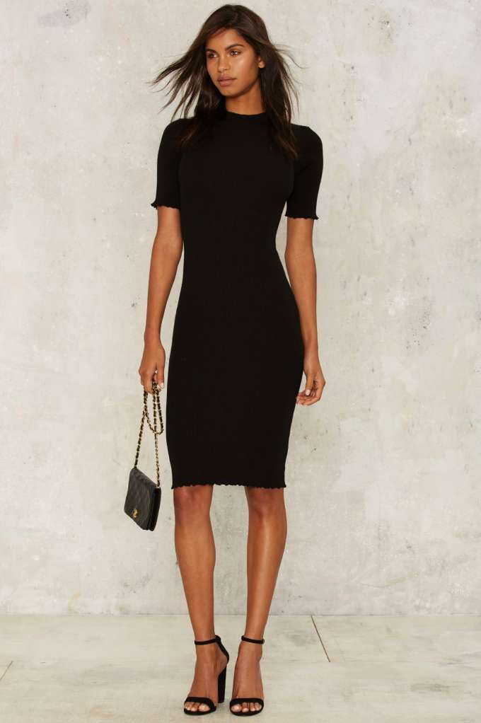 All the Mock Things Midi Dress - Sale: Newly Added | Sale: 40% Off | Midi Dresses | Black Dresses | Dresses | Clothes