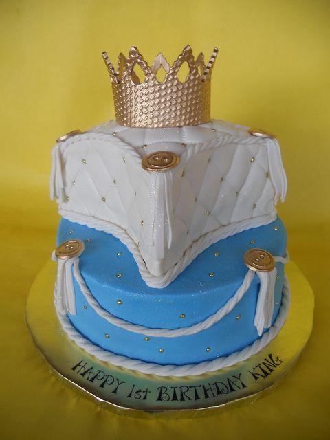 Little King 1st Birthday Cake Birthday Cake Cake Birthday