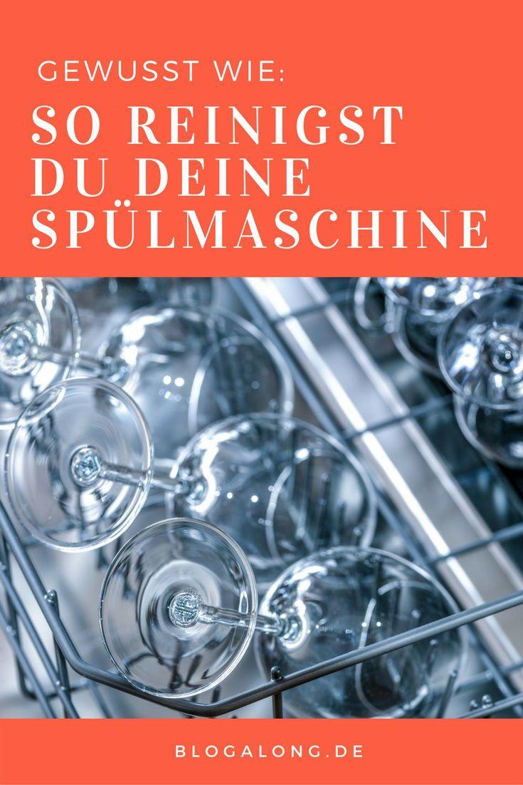 Gewusst wie: So reinigst du deine Spülmaschine | Küche putzen ...