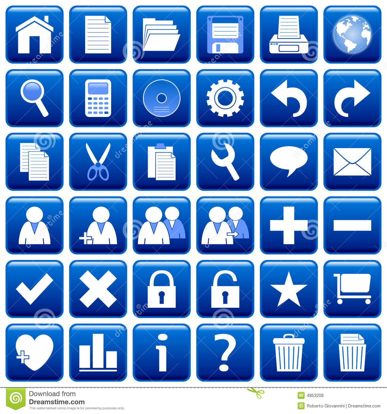 Blue Square Web Buttons 1 Blue Square Print Designs Inspiration Print Design Fashion