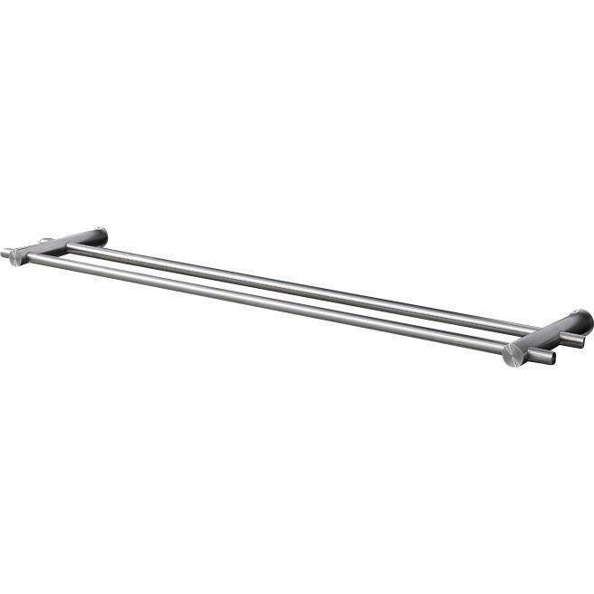 Psba Double Towel Bar Rail Holder Hanger For Bathroom Towel Hanging Rack Steel Matte More Sizes Available Modern Towel Bars Towel Hangers For Bathroom Hanging Racks