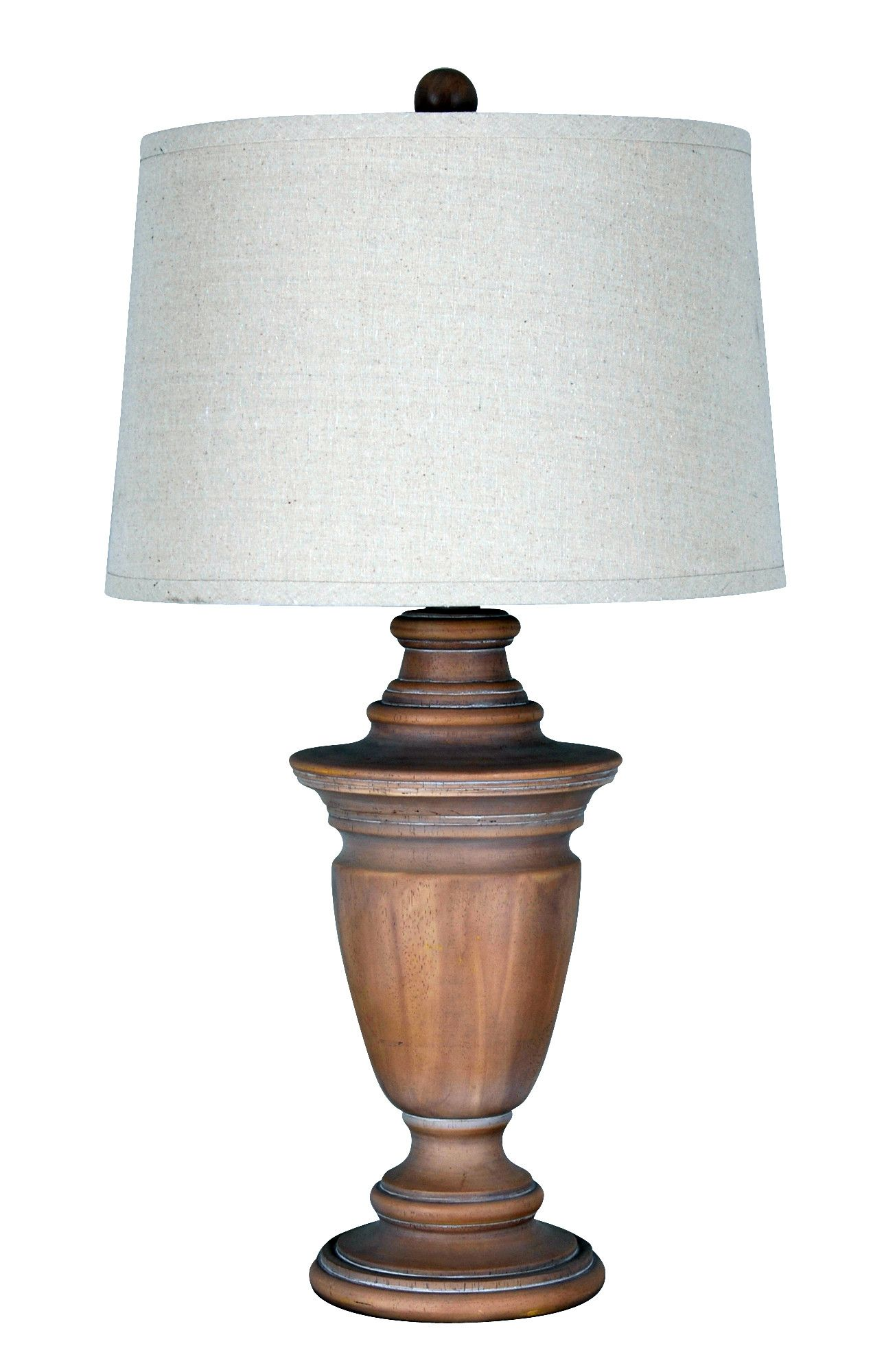 Table Lamp With Drum Shade I Wayfair Table Lamp Wood Lamps Living Room Farmhouse Table Lamps