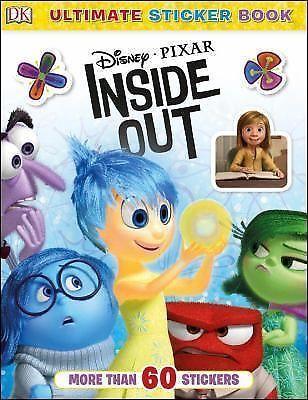 Ultimate Sticker Bks.: Disney Pixar Inside Out by Dorling Kindersley...