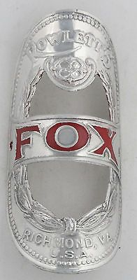 Fox Bicycle Head Badge bike Name Plate antique original old vintage in Collectibles | eBay