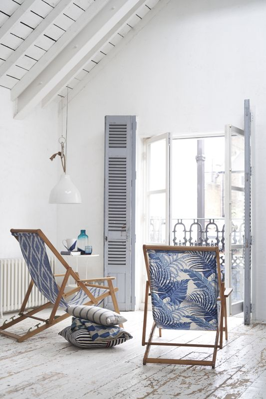 Coastal Whites and Blues outdoor \ oasis Pinterest Playa - sillas de playa