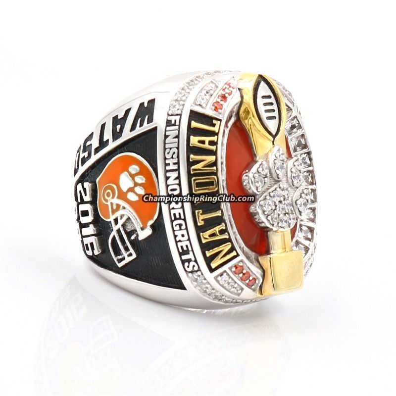 ncaa grande set championship national replica tigers rings clemson products ring