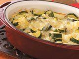 Scalloped Zucchini - Featured video on same page as Zucchini Onion Casserole