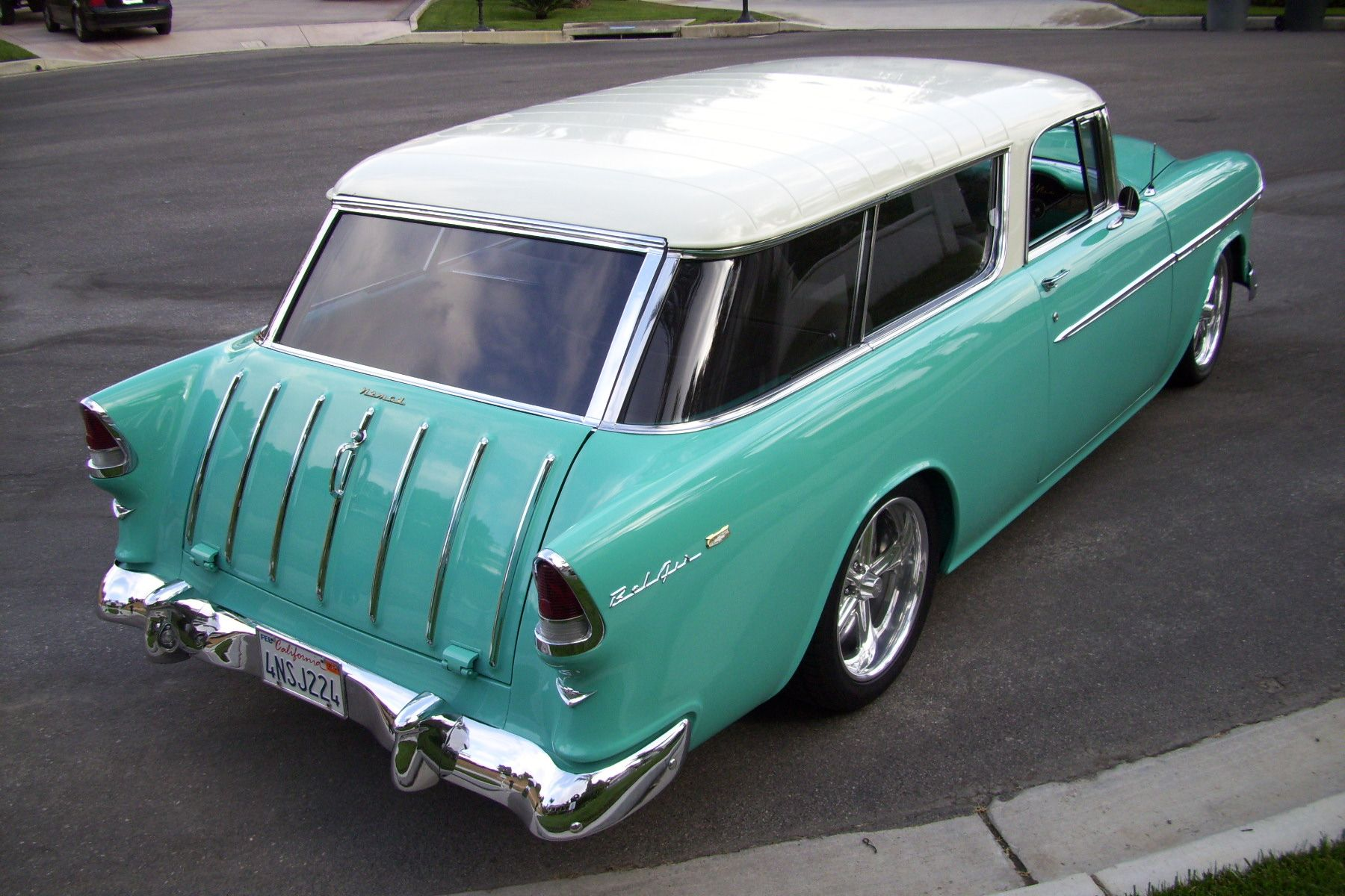 55 Chevy Nomad Classic Cars Cool Old Cars Chevy Nomad