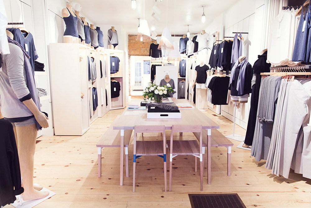 Kit & Ace, a cozy new clothing store on Queen West from