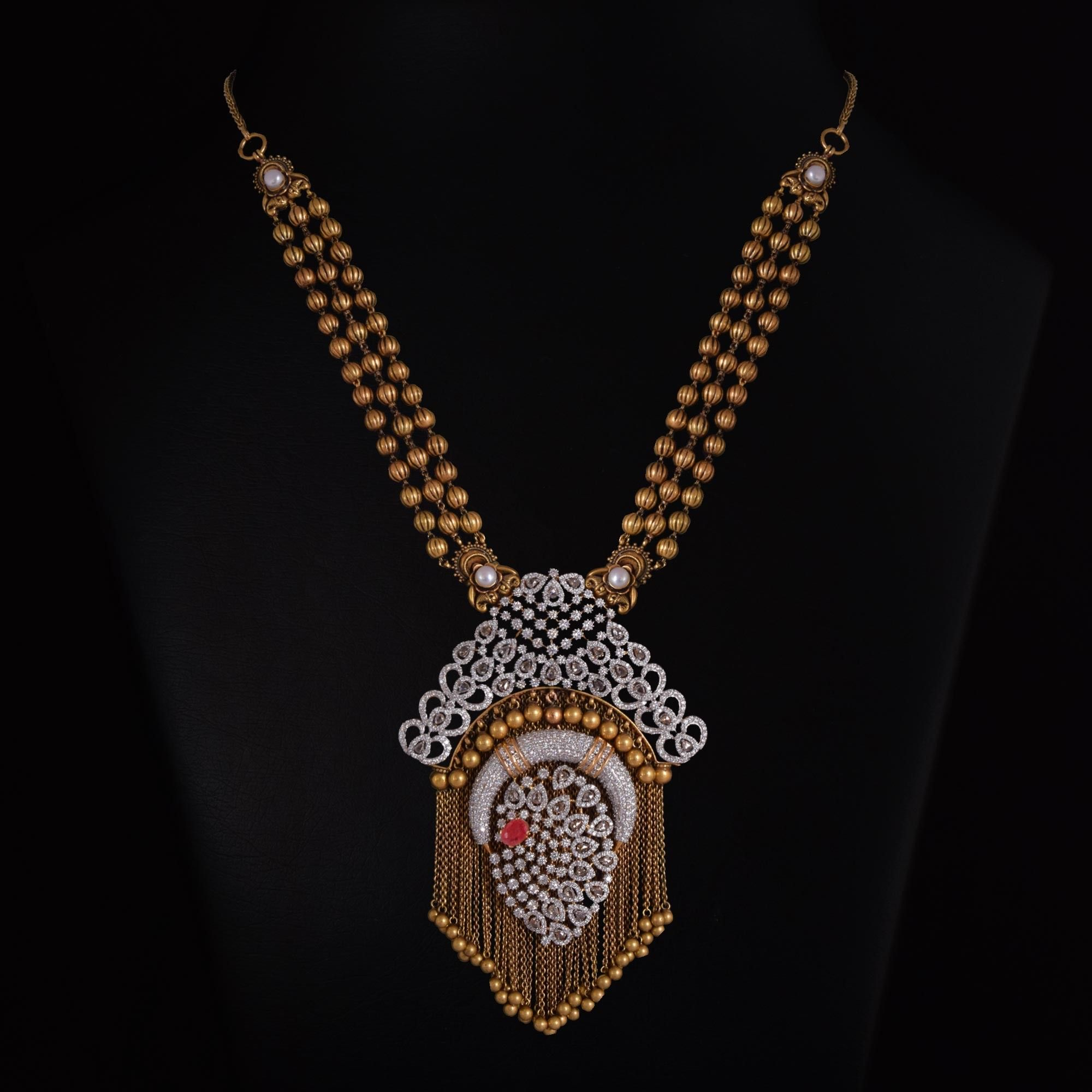 Vummidi bangaru jewellers gold jewelry in pinterest
