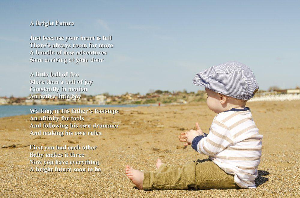 Inspirational Poem A Bright Future Baby Sensitive Skin Cool Boy Names Baby Names