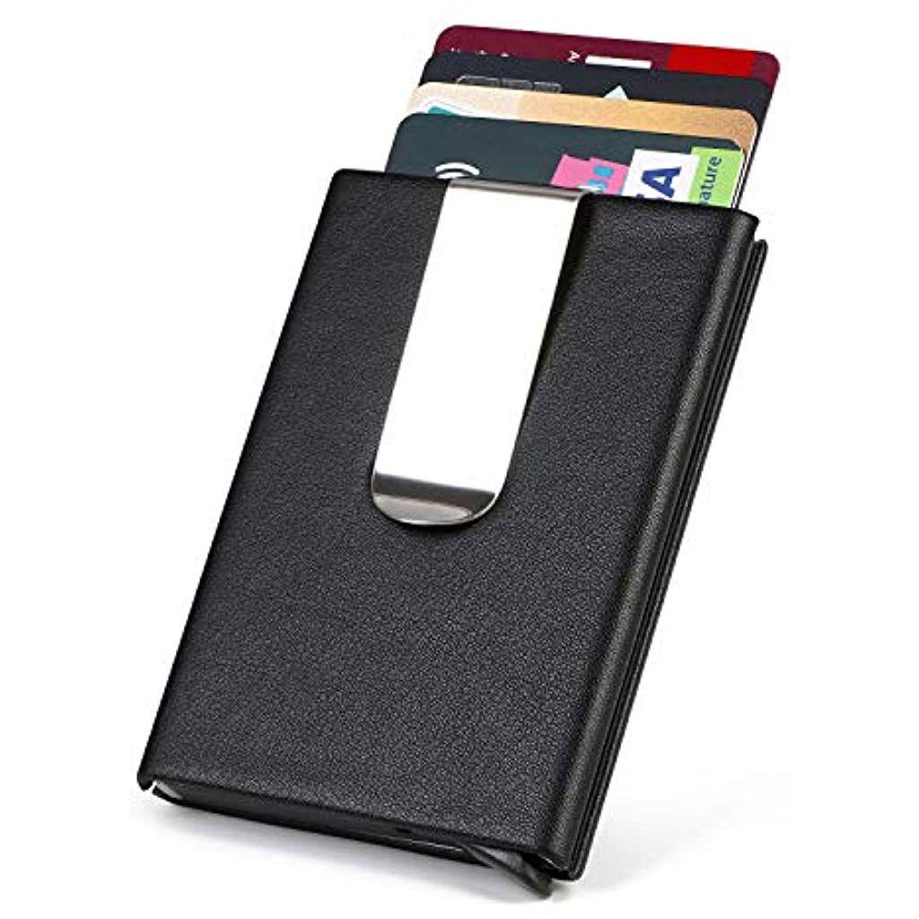 migliori scarpe da ginnastica d79a6 d7733 URAQT Porta Carta di Credito RFID Portafoglio per Carte di ...