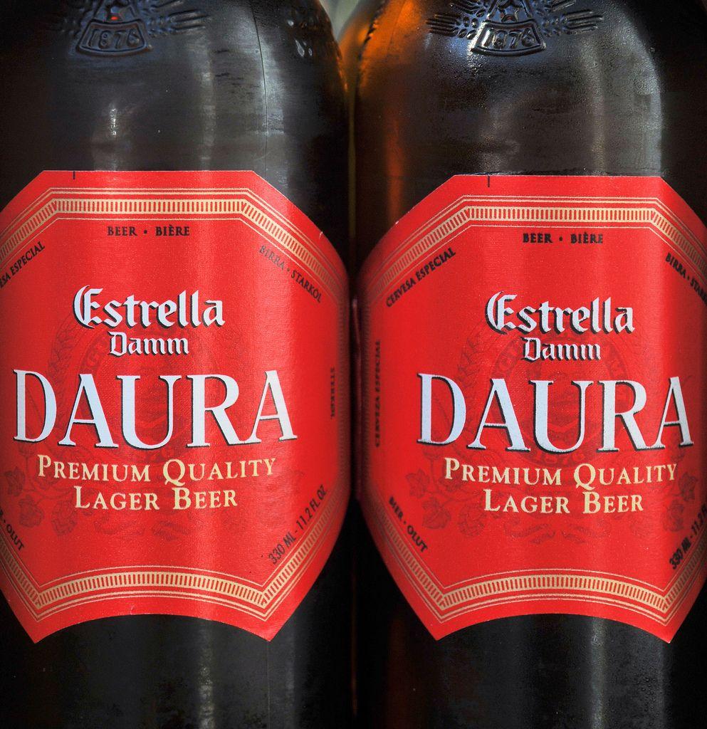 Estrella Daura Damm Lager Beer - Baracelona Spain