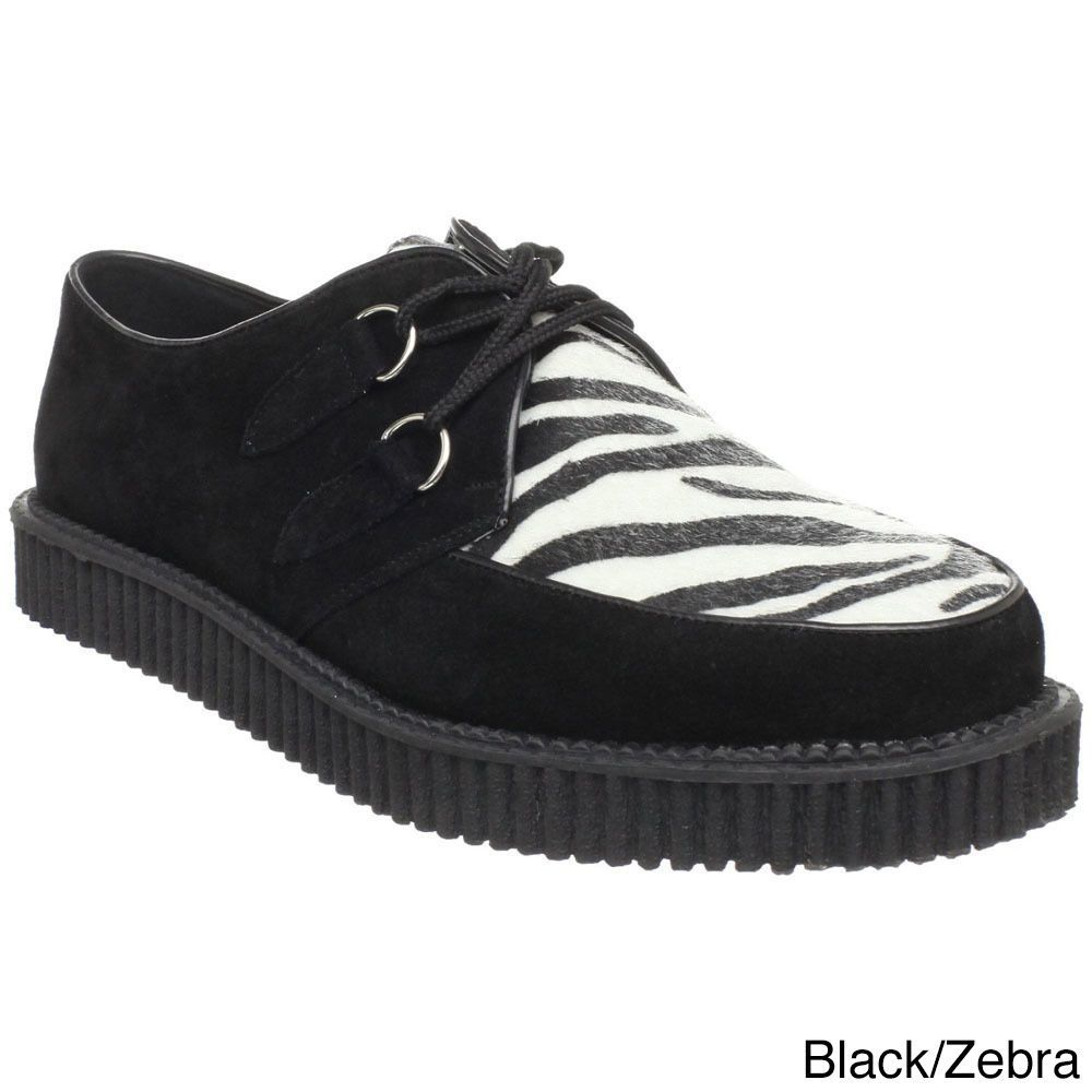 Make an impression when you wear these vintage creeper shoes from Demonia.  These kicks have