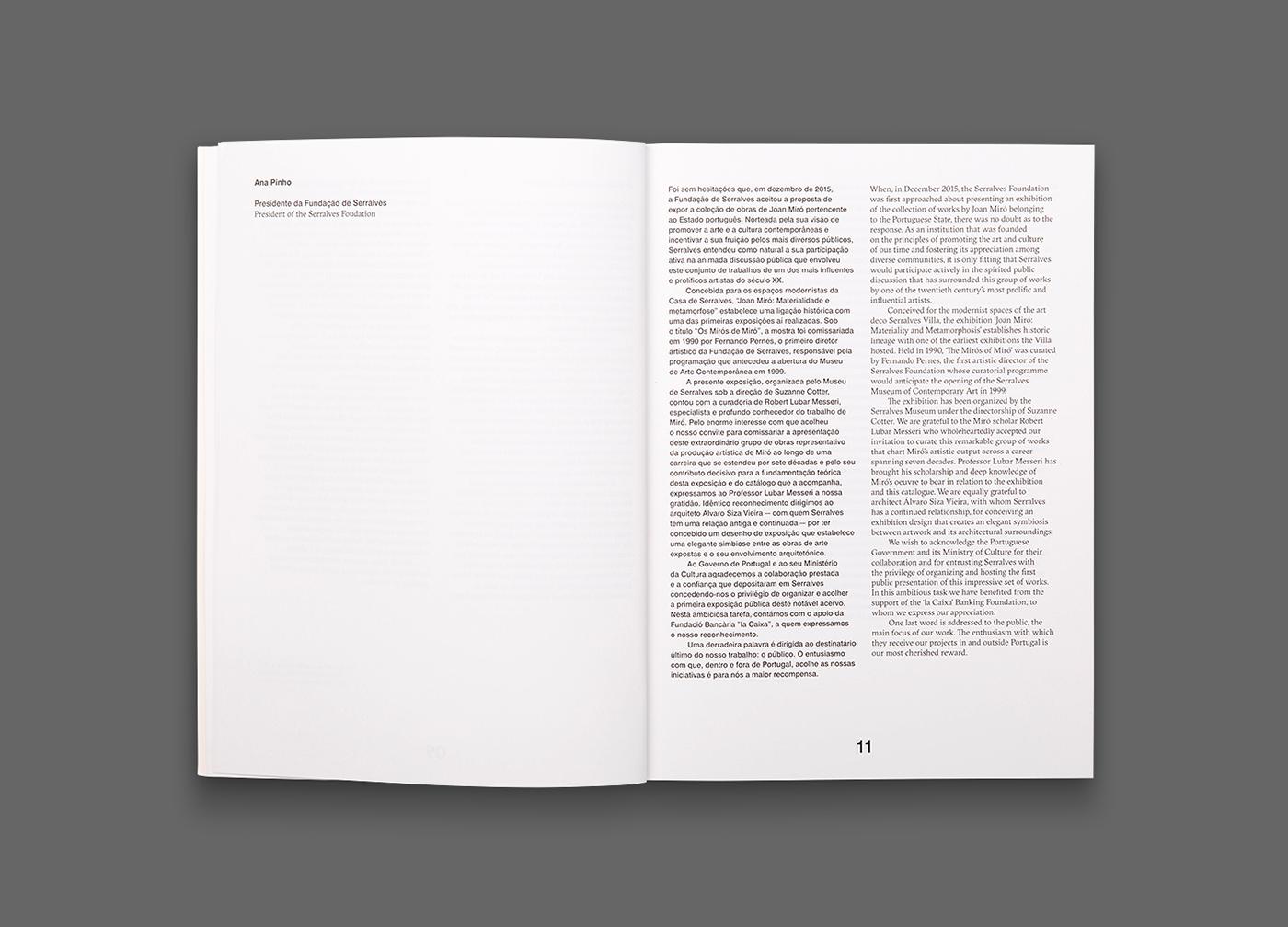 Joan Miró – Exhibition Catalogue on Behance