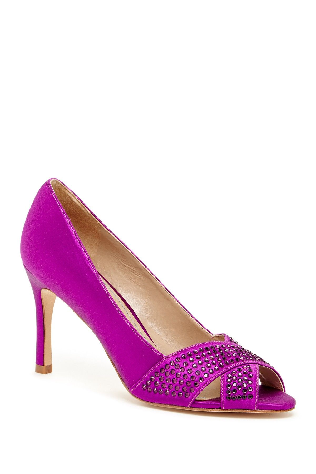 David Tutera  Specialty Peep Toe Pump by DAVID TUTERA on @HauteLook
