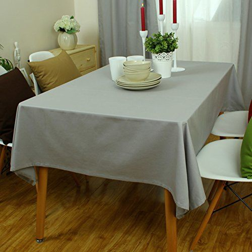 Cotton Table Cloth Oblong Table Cloth Square Round Table Computer