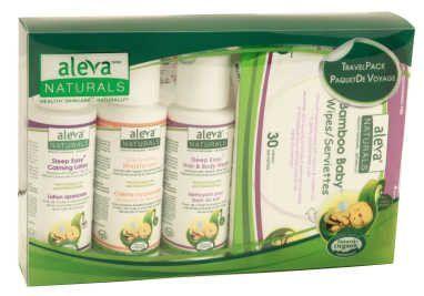 Aleva Naturals Newborn Travel Pack-Kit 37990