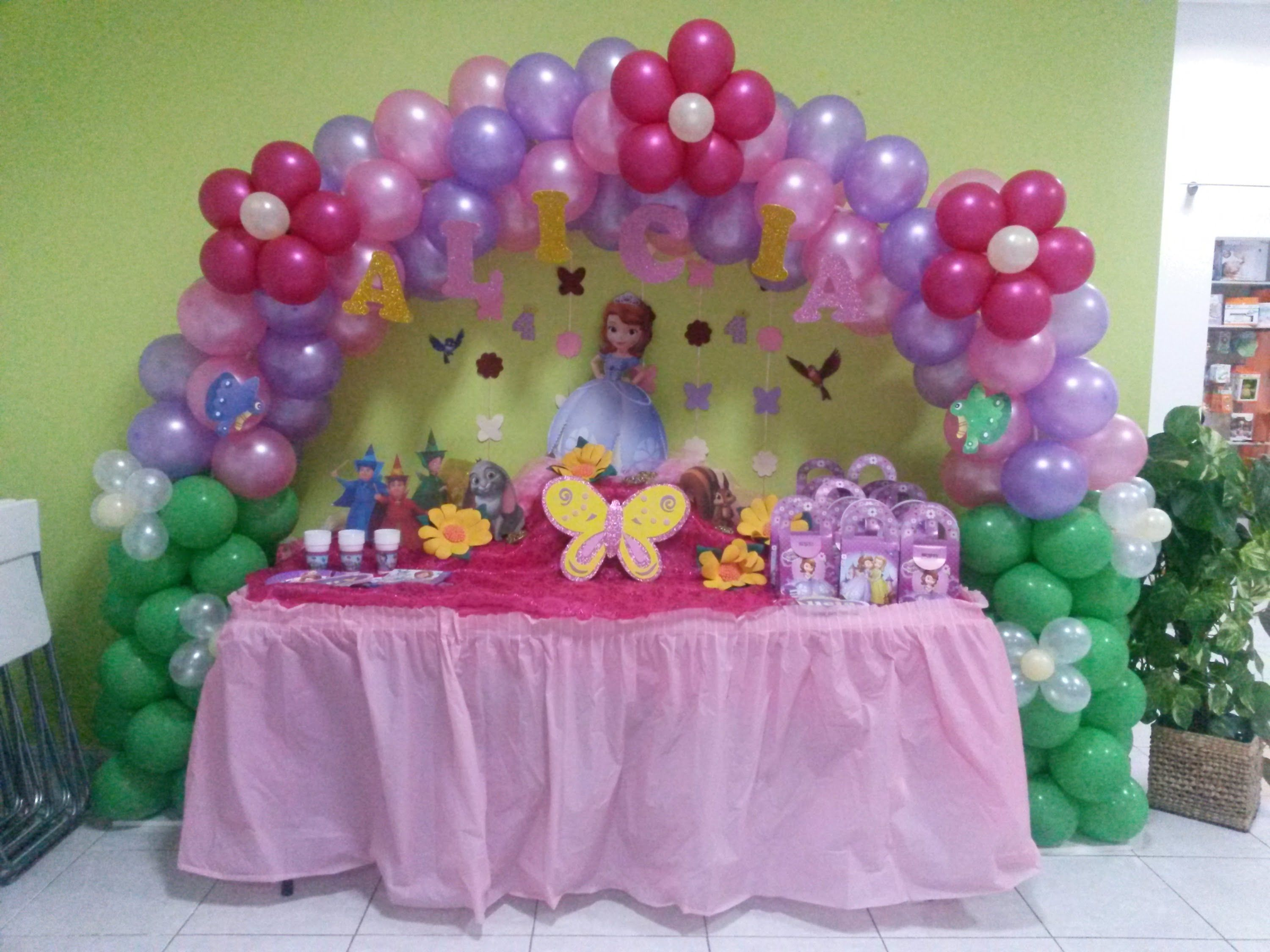 Se encontr en google desde decoraciones for Decoracion cumpleanos princesas