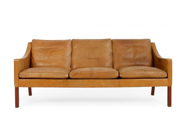 borge mogensen sofa model 2209 american furniture leather sofas this was designed by in the 1960s and produced fredericia denmark it features cognac colored on down