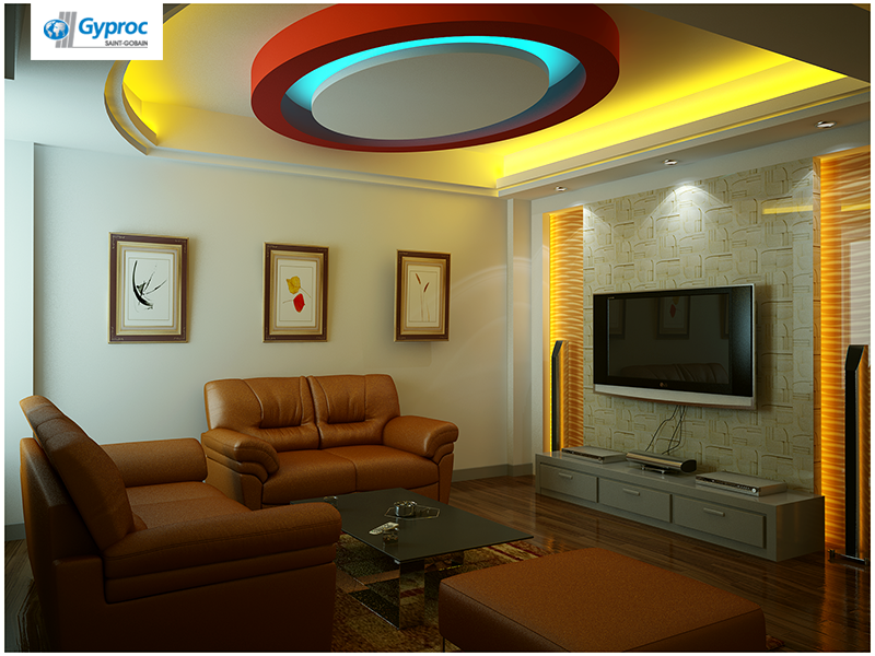 Install the best of Gyproc India ‪#‎falseceilings ...