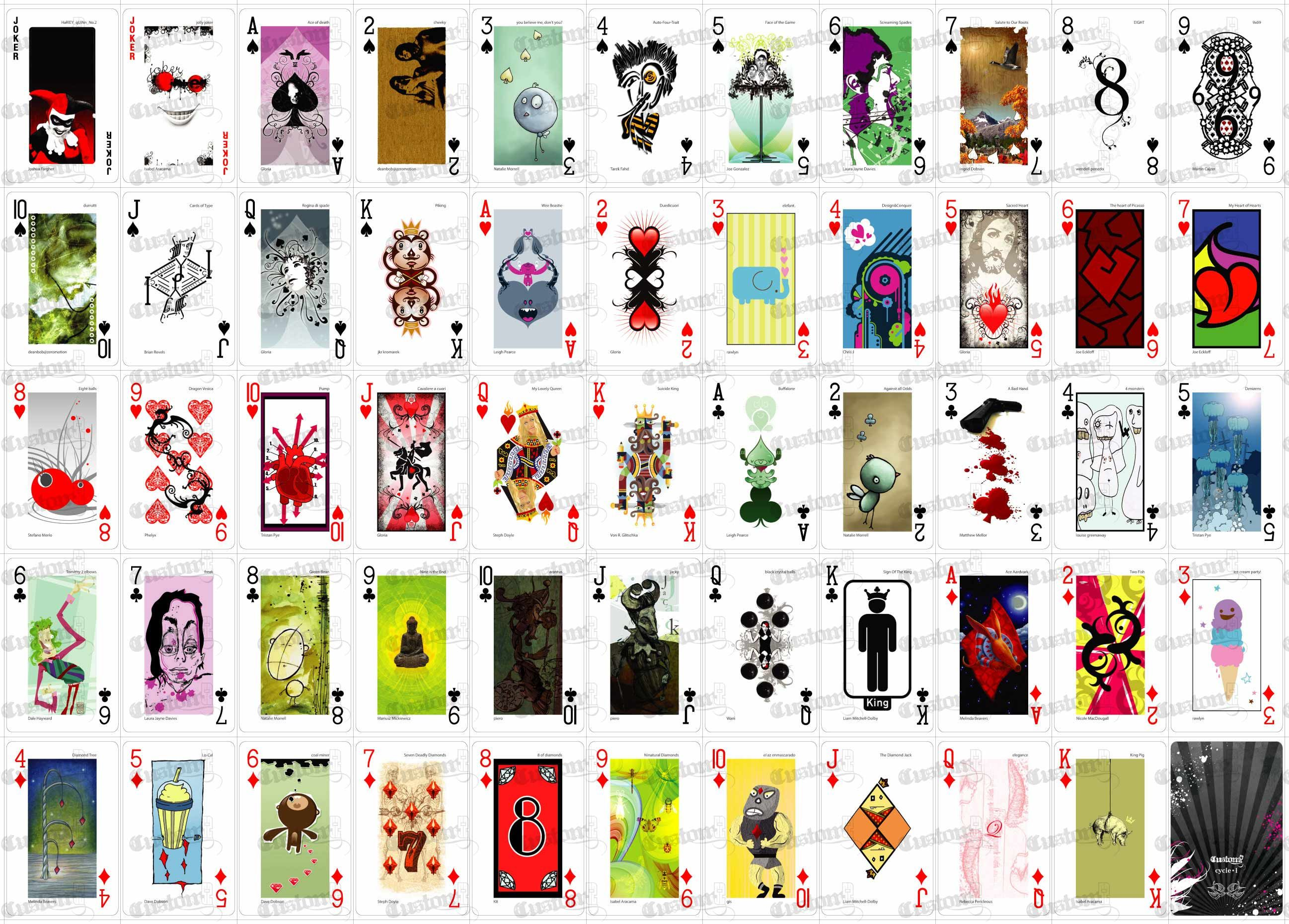Playing Card Designs | Artist Emmanuel Jose has designed a deck of ...