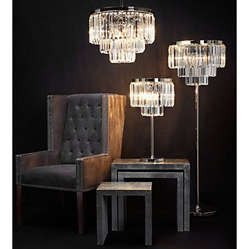 Luxe Crystal Floor Lamp Floor Lamps Lighting Decor Z Gallerie Crystal Floor Lamp Crystal Table Lamps Lamp