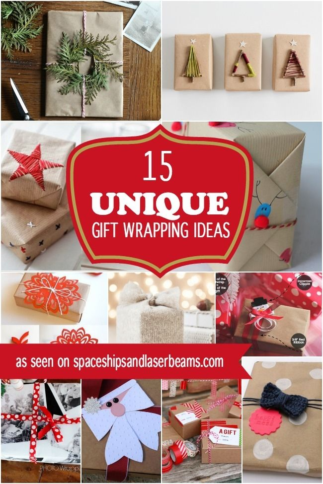 15 Unique Christmas Gift Wrapping Ideas Christmas Wrapping Diy Quirky Christmas Gifts Unique Christmas Gifts
