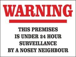 Signs Your Neighbor Is Stalking You