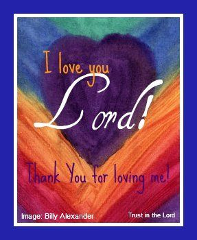 Thank You Lord for Loving Me Father