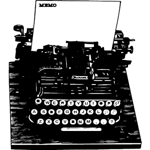Typewriter clipart, cliparts of Typewriter free download (wmf, eps ...